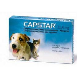 Capstar Comprimidos Para Perros y Gatos