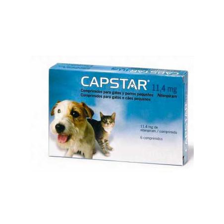 Capstar Comprimidos Anti-Pulgas Para Perros y Gatos