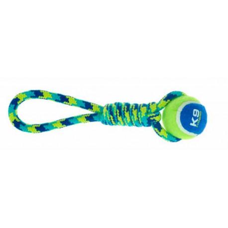 Juguete Mordedor K9 Fitness Pelota y Cuerda