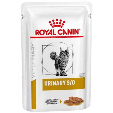 Royal Canin Urinary S/O Salsa Gatos Sobre 85g