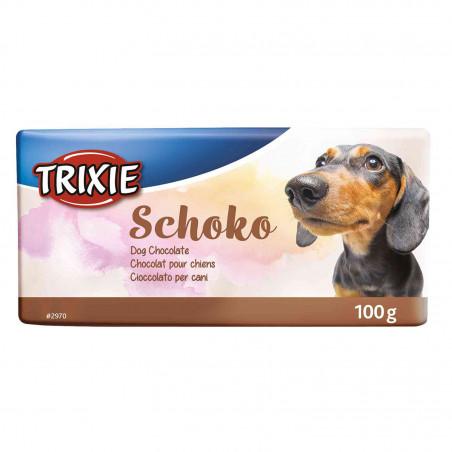 Tableta Chocolate Negro Para Perros 100g