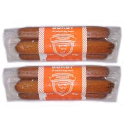 Salchichas Sabor Pollo y Bacon