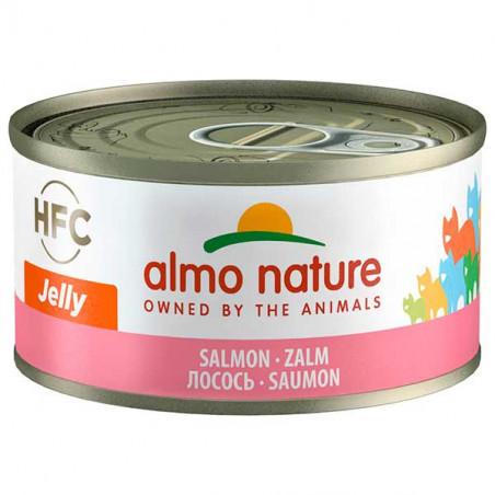 Almo Nature HFC Salmón Gelatina para Gatos 70g