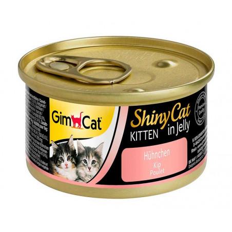 Latas Gimcat Shinycat Kitten de Pollo