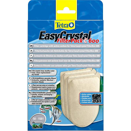 Recambios EasyCrystal Filtro Pack C 600 Carbon Activo