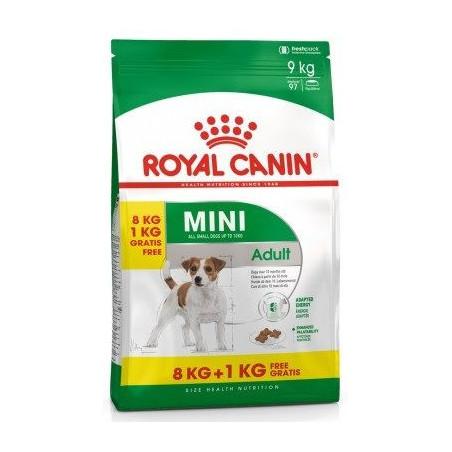 Royal Canin Mini Adulto 8kg + 1kg