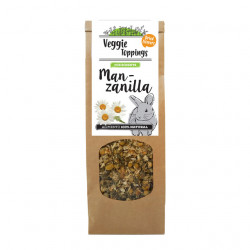 Veggie Toppings Manzanilla para roedores