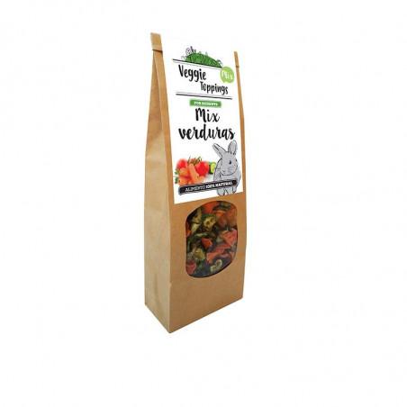 Veggie Toppings Mix Verduras para roedores