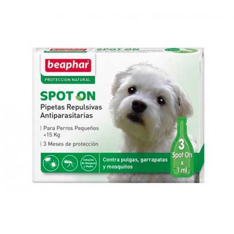 Beaphar Pipetas Repulsivas antiparasitarias Para Perros Pequeños