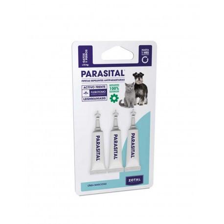 Parasital Pipeta Repelente Perros Pequeños y Gatos