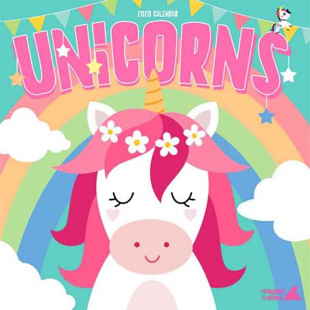 Calendario Unicornios 2020