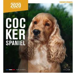 Calendario Raza Cocker Spaniel 2020