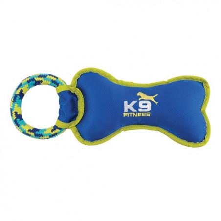 Mordedor K9 Fitness Zeus Hueso de Nylon con Cuerda