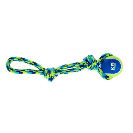 Juguete Mordedor Cuerda y Pelota K9 Fitness