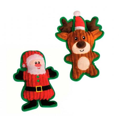 Peluche Navideño Reno o Santa Claus