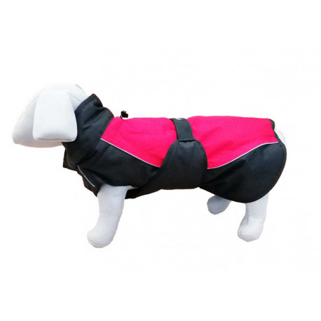 Abrigo Impermeable con Peto para Perro