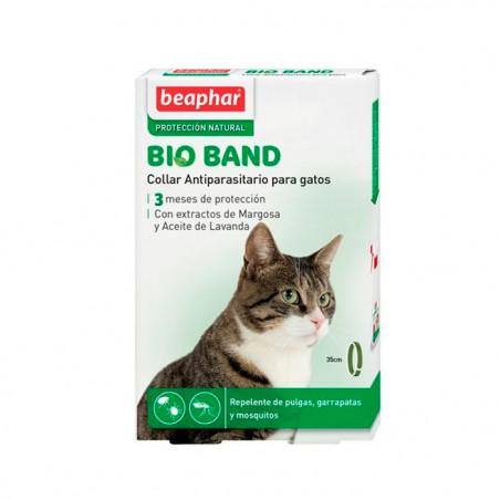 Bio Band Collar anti-insectos Natural Para Gatos