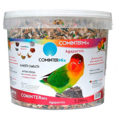 Alimento Completo Agapornis y Ninfas Cominter Mix