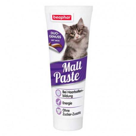 Pasta Malta Beaphar Control Bolas de Pelo para Gatos