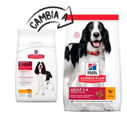 Hill's Canine Adult con Pollo Razas Medianas