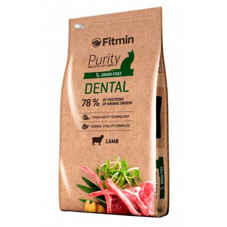 Pienso Fitmin Cat Purity Dental Cordero