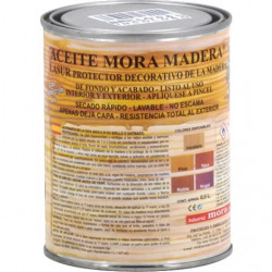 Aceite Mora Madera Incoloro Satinado