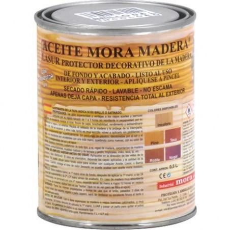 Aceite Mora Madera Nogal Satinado
