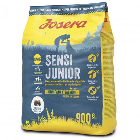 Pienso Josera Cachorro Sensi Junior Pato y Salmón