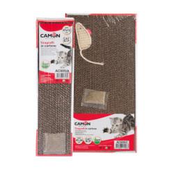 Rascador Camon De Cartón Para Gatos