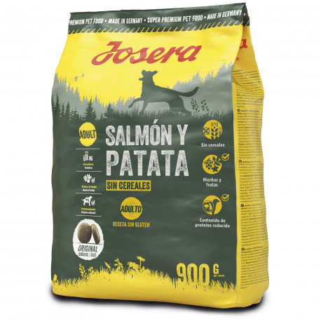 Pienso Josera Salmón y Patata Adult Grain Free