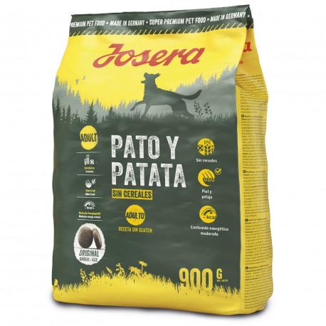 Pienso Josera Pato y Patata Adult Grain Free