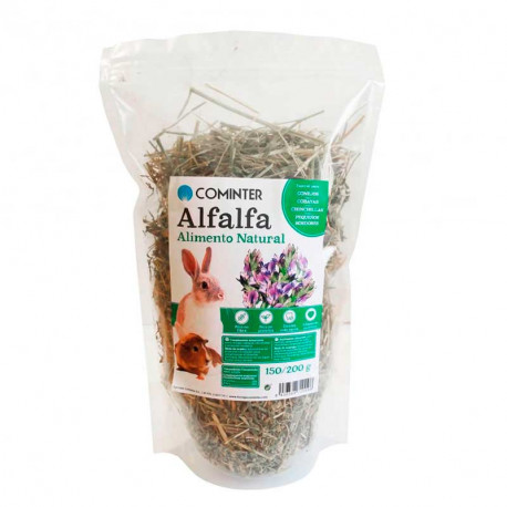 Alfalfa Natural para Roedores de 150g