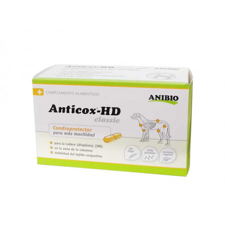 Anticox HD - clásico K - Estabiliza El Aparato Locomotor 140 Cápsulas