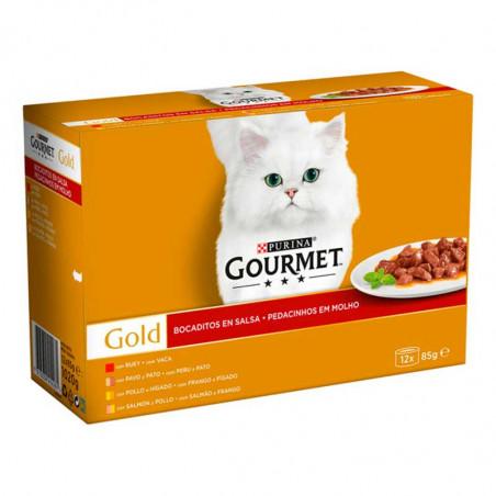 Purina Gourmet Gold Salsa Surtidos Pack 12 Latas