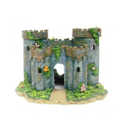 Figura Acuario Castillo Medieval Francés