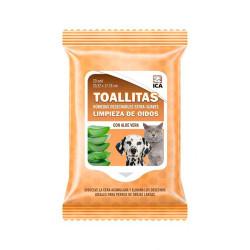 Toallitas Limpieza de Oidos perros