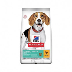 Hills Canine Adult Medium Perfect Weight Con Pollo