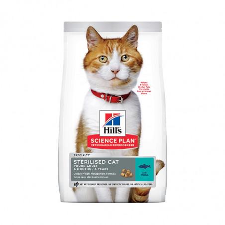 Hill's Feline Sterilised Cat Young Adult Atún