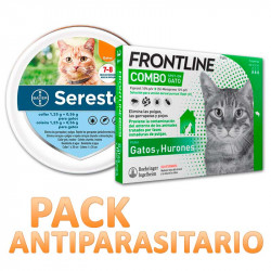 Collar Seresto + Frontline Combo Spot On para Gatos