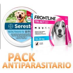 Collar Seresto + Pipetas Frontline Tric-Act para Perros