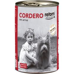 Retorn Lata de Cordero con Arroz para Perros 400g