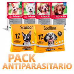 Advantix 4 Pipetas + Collar Scalibor