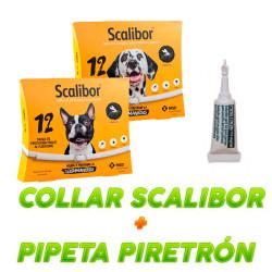 Collar Scalibor + Pipeta Piretron Monodosis