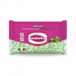Toallitas Inodorina Refresh Clorexidina