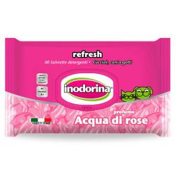 Toallitas Inodorina Refresh Agua de Rosas