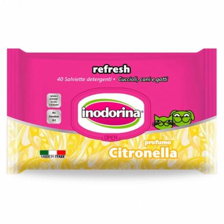 Toallitas Inodorina Refresh Citronella