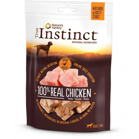 Snack True Instinct Dados de Pollo