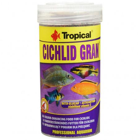 Alimento Tropical Cichlid Gran Potenciador del Color