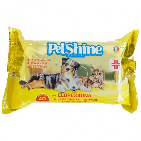 Toallitas PetShine Clorexidina