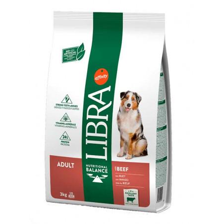 Libra Adult Buey Pienso Para Perros